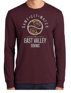 East Valley Tennis Team Long Sleeve T-shirt