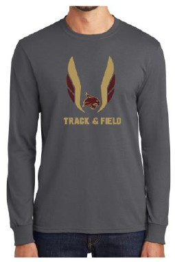 East Valley Track Team Long Sleeve T-shirt